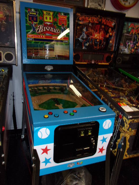 all star baseball pitch and bat novelty arcade game