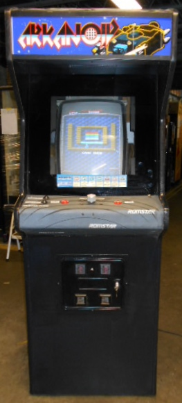 ARKANOID Upright Arcade Machine Game for sale by TAITO - BLAST ...