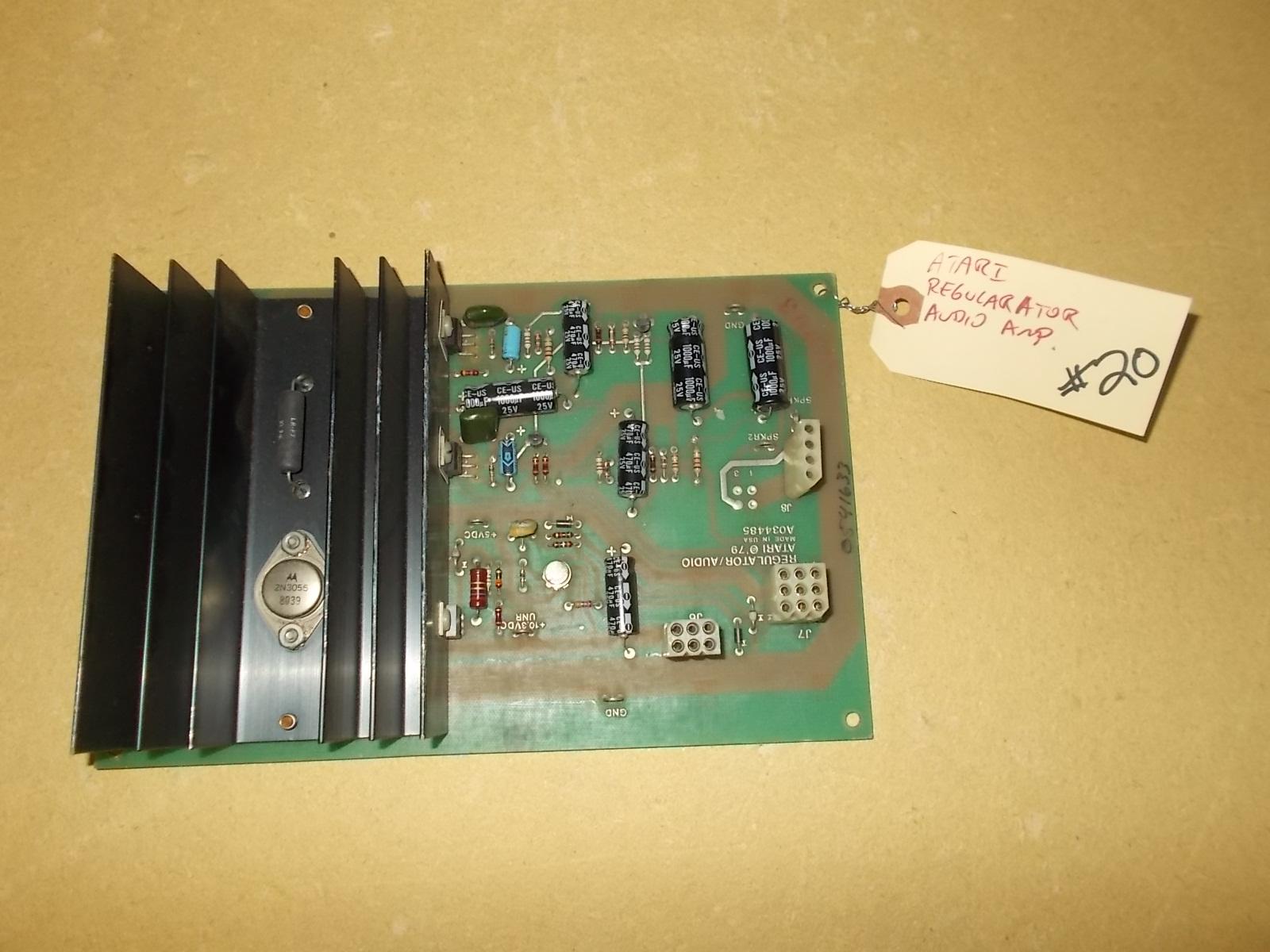Atari Regulator Audio Amp Arcade Machine Game Pcb Printed Circuit Prototype Board Maker Buy 20 As