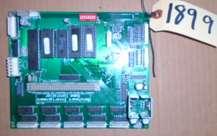 BUBBA'S EXCAVATION COMPANY Arcade Machine Game PCB Printed Circuit MAIN Board #1899 for sale