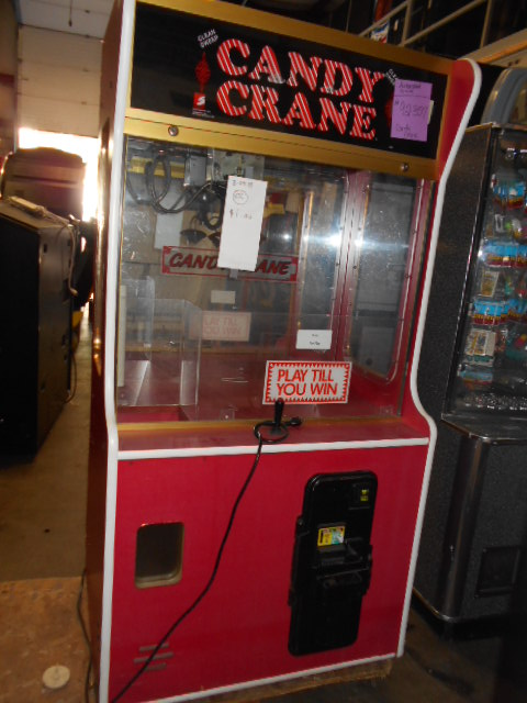 Candy Crane Quot Play Till You Win Quot Arcade Machine Game For