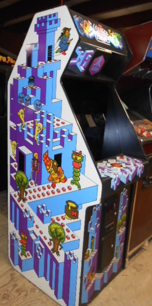 CRYSTAL CASTLES Upright Video Arcade Game Machine for sale by ...