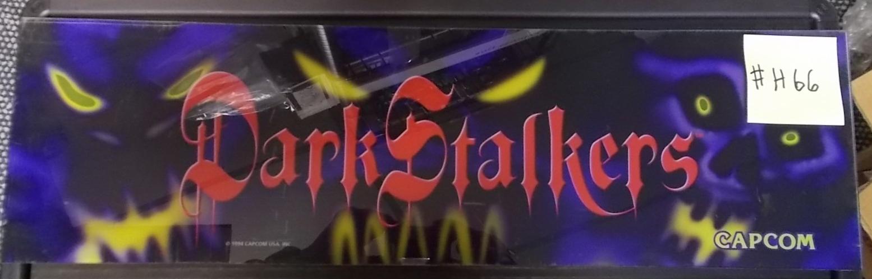 DARK STALKERS: THE NIGHT WARRIORS Arcade Machine Game Overhead ...