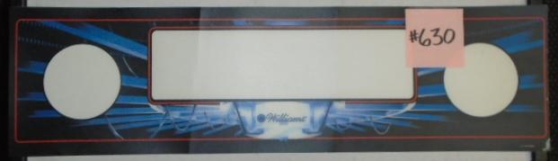 DEMOLITION MAN Pinball Machine Game Speaker Grill Panel Mylar