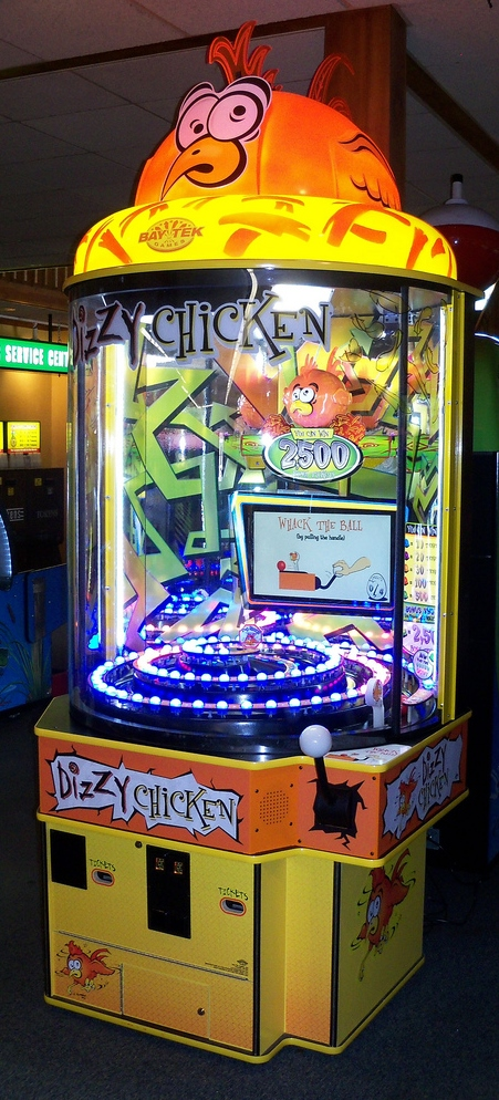 DIZZY CHICKEN Ticket Redemption Arcade Machine Game for sale