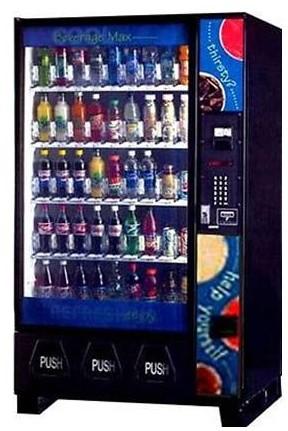 Dixie Narco Dn5591 5591 Beveragemax Bottle Drop Glass