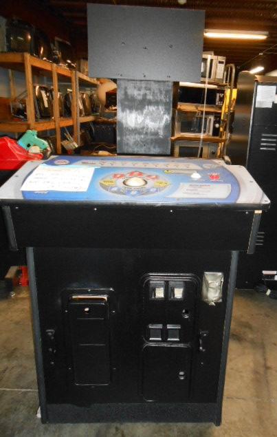 EA SPORTS PGA TOUR GOLF CONVERSION PEDASTAL Arcade Machine Cabinet with 2 JOYSTICKS & COIN DOOR for sale