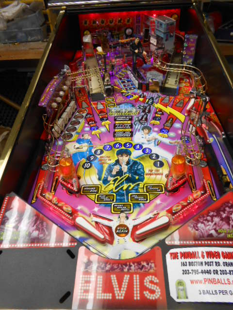 ELVIS Pinball Machine Game for sale - with Custom Decals