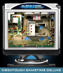"MERIT GAMETIME DELUXE 15"" Touchscreen Arcade Game Machine for sale"