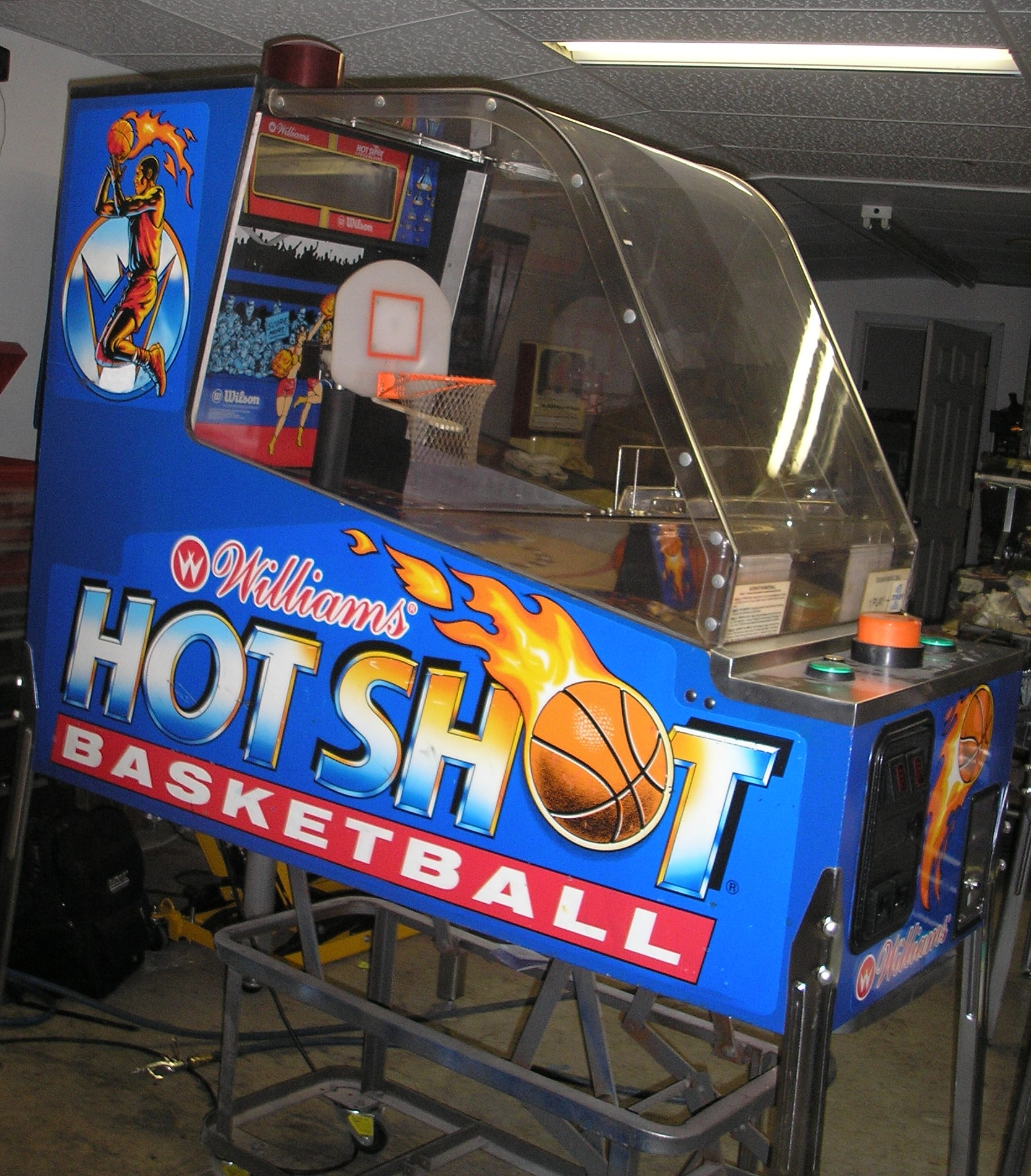 basketball arcade machine for sale