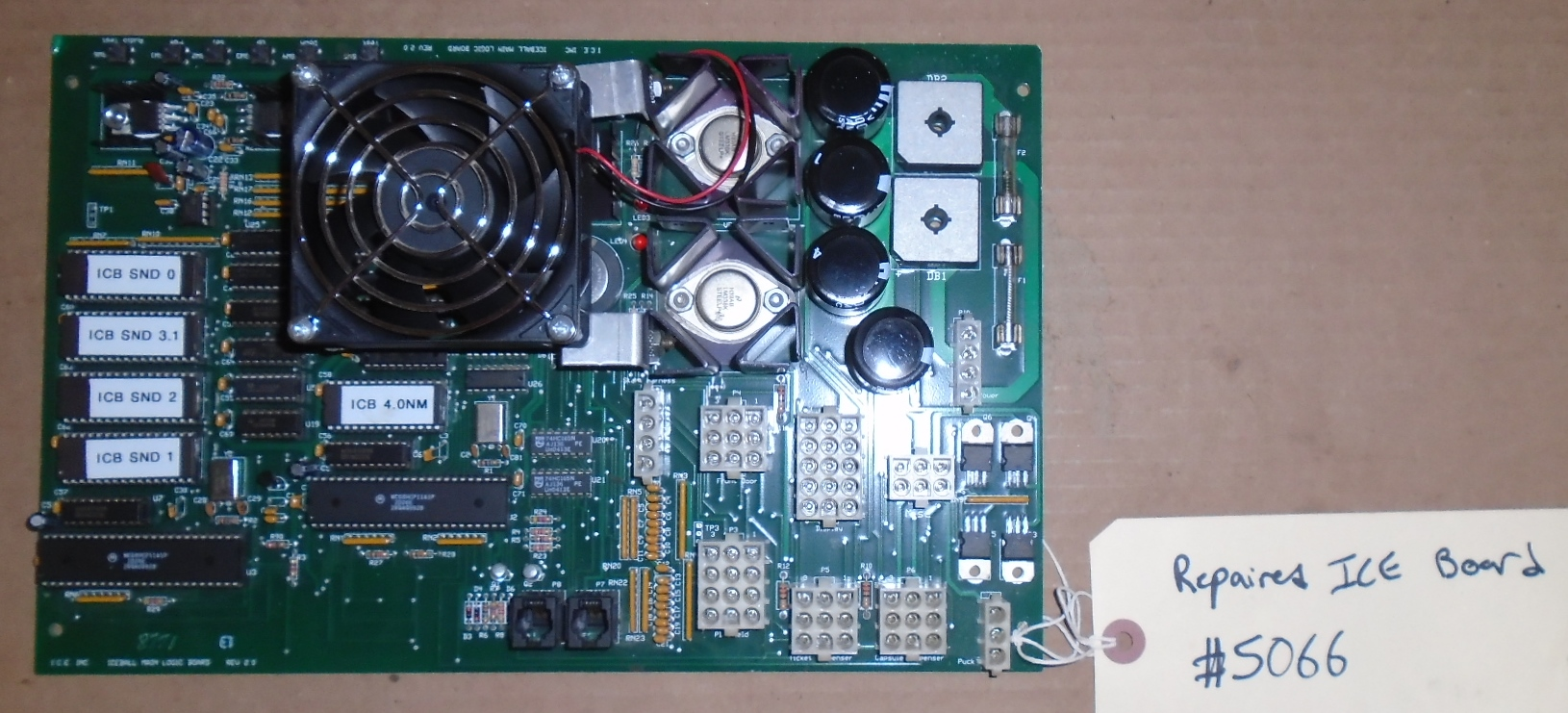 ICE Arcade Machine Game PCB Printed Circuit Board #5066 for sale