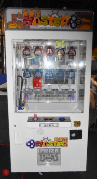 Simple Bill Of Sale >> KEY MASTER Redemption Arcade Machine Game for sale by SEGA ...