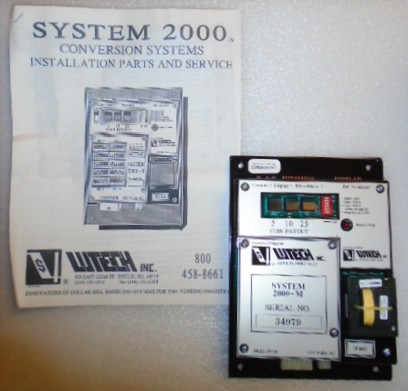 LUTECH SYSTEM 2000 Vending Machine PCB Printed Circuit CONVERSION SYSTEM for sale