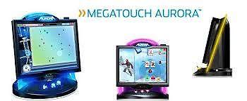 MERIT AURORA 2011 Touchscreen Arcade Game Machine for sale with Coin & Bill