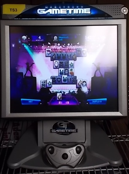 "MERIT GAMETIME DELUXE 17"" Touchscreen Arcade Game Machine for sale"