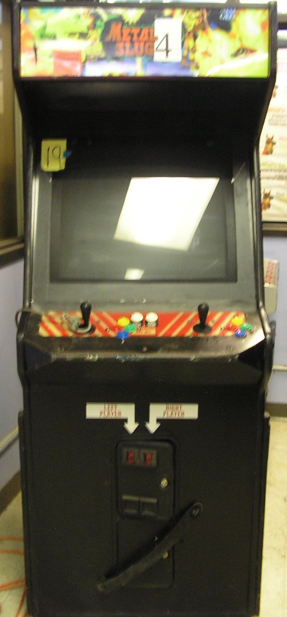 METAL SLUG 4 Arcade Machine Game for sale by SNK! | COIN-OP PARTS ...