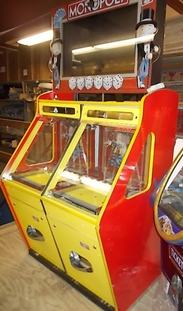 Used Arcade Games Sale : Monopoly coin pusher ticket redemption arcade machine
