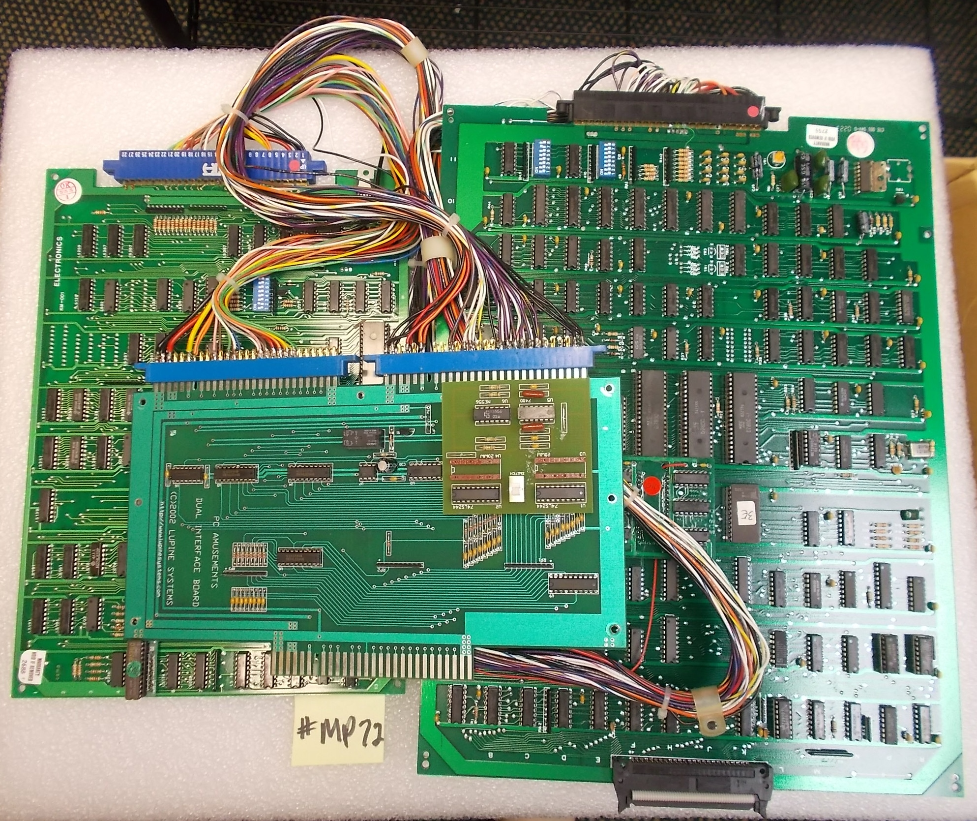 Ms Pacmangalaga Arcade Game Machine Conversion Kit For Sale Boards Harnesses on Machine Schematics