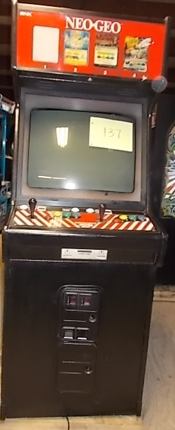 NEO GEO 4 Slot/2 Player Upright Arcade Machine Game for sale ...