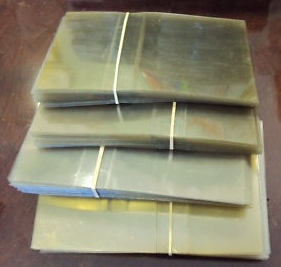 NSM MUSIC Jukebox PLASTIC CD TITLE STRIP COVERS for sale - Lot of 100 - NOS