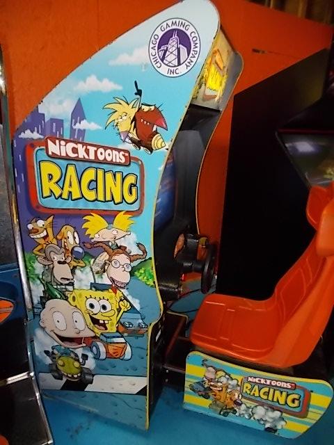 Nicktoons Racing Sit Down Arcade Machine Game For Sale