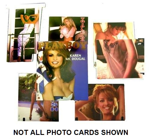 PLAYBOY Pinball Machine Game Genuine Replacement - PHOTO KIT SETS (2) #502-5010-00 for sale