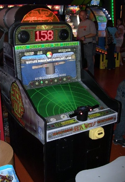 SEA WOLF Arcade Machine Game for sale - REMAKE OF A CLASSIC