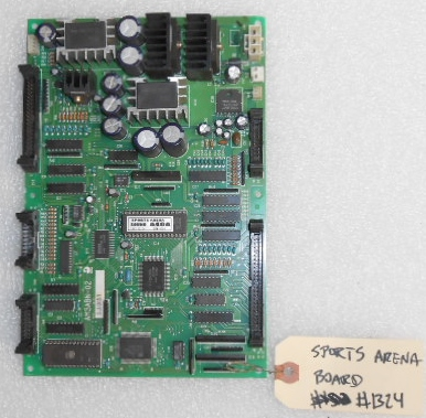 SPORTS ARENA Arcade Machine Game PCB Printed Circuit SOUND board #1324 for sale