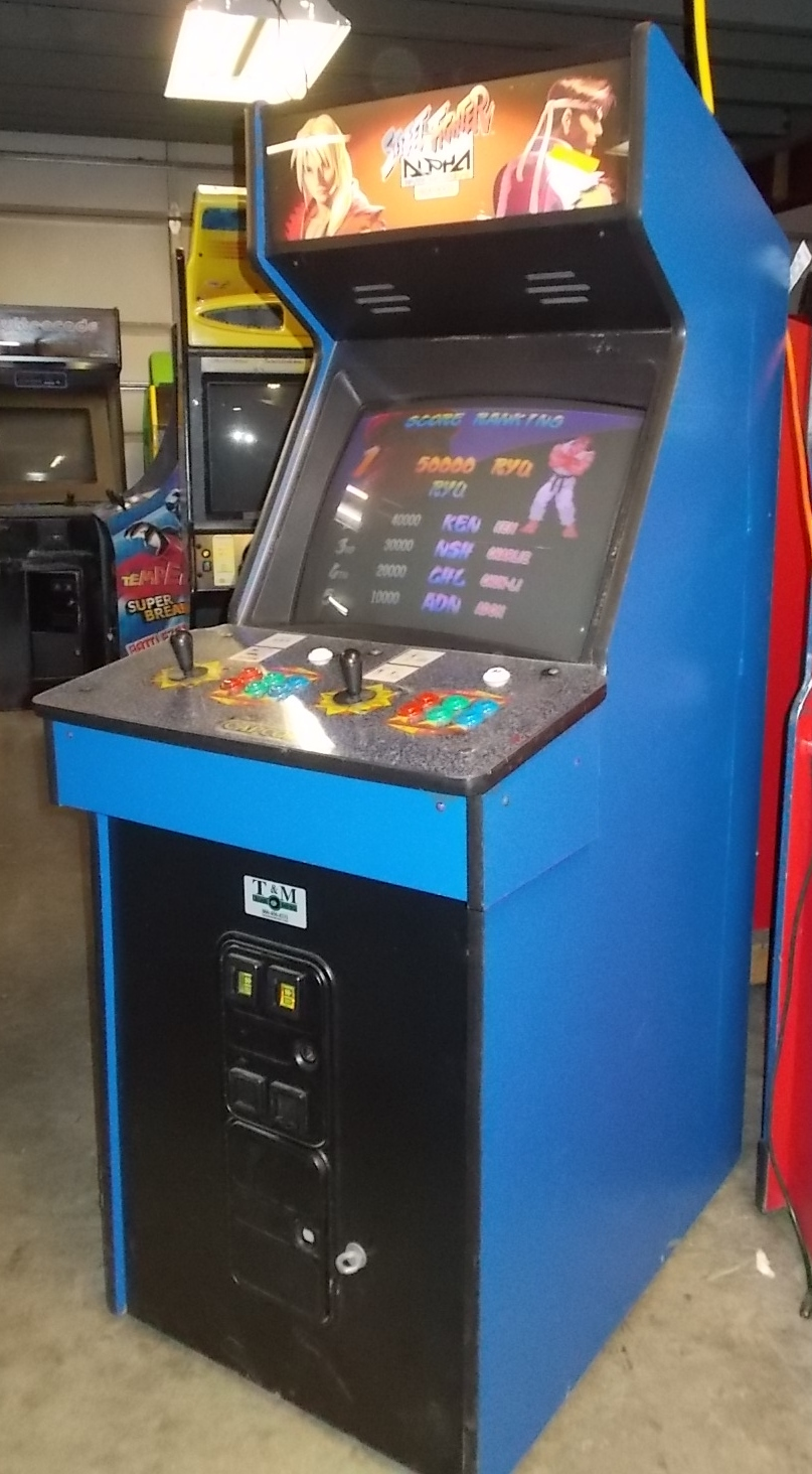 STREET FIGHTER ALPHA Arcade Machine Game for sale by CAPCOM ...
