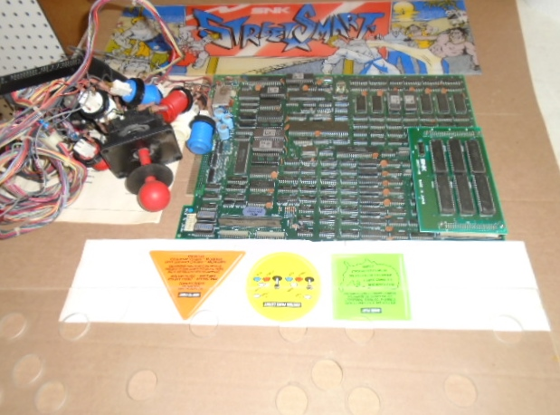 STREET SMART Arcade Game Machine Kit #3093 for sale by SNK