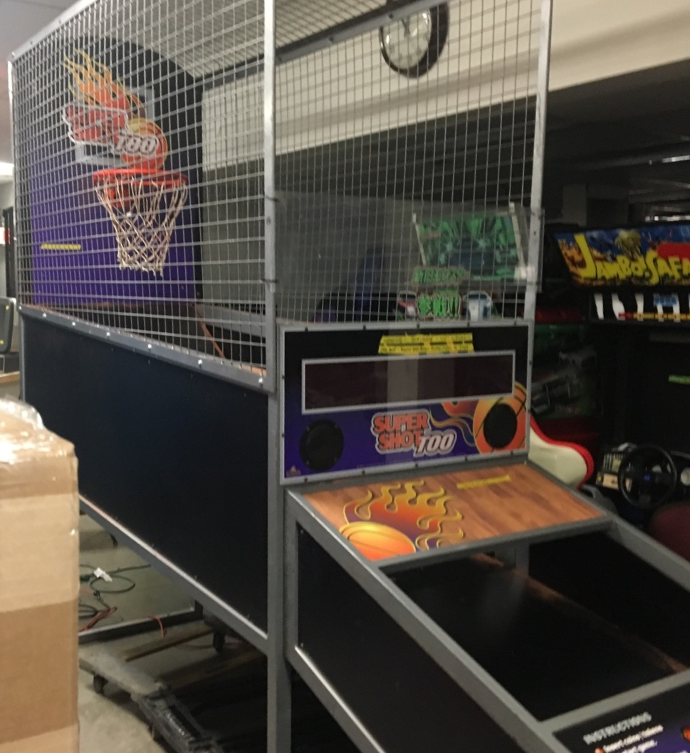 SUPER SHOT TOO BASKETBALL Arcade Machine Game For Sale By