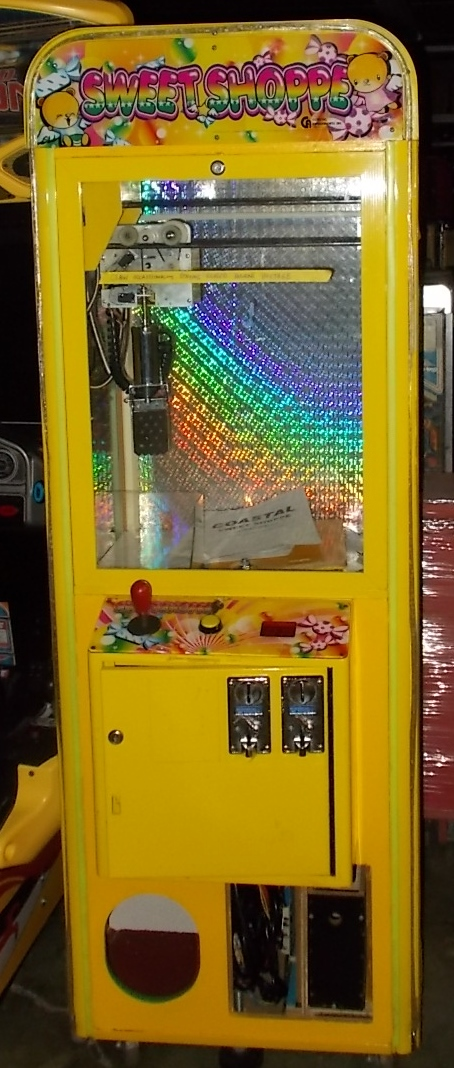 sweet shoppe candy crane arcade machine game for sale