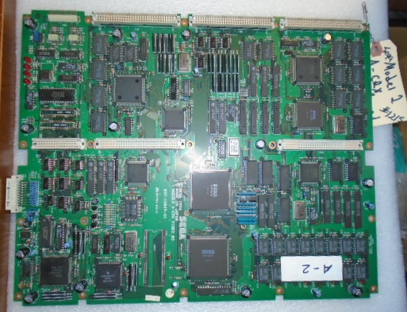 Sega Model 2 A-CRX Arcade Machine Game PCB Printed Circuit ...