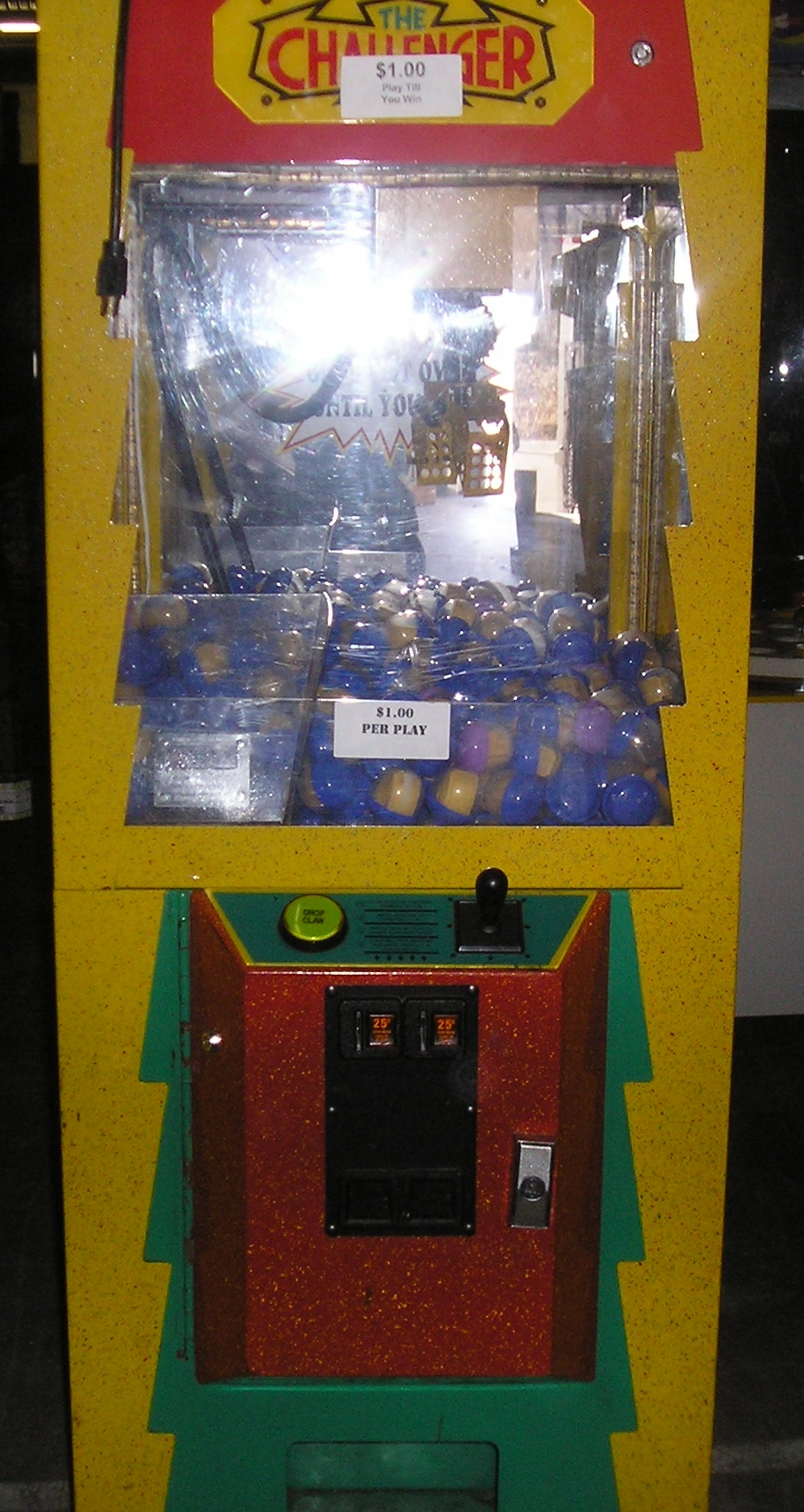 The Challenger Candy Crane Arcade Machine Game For Sale