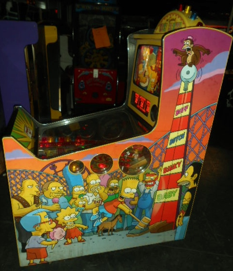 Free Shipping Sites >> THE SIMPSONS KOOKY CARNIVAL Redemption Arcade Machine Game ...