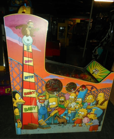 The Simpsons Kooky Carnival Redemption Arcade Machine Game For Sale By Stern on Machine Schematics
