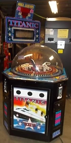 titanic 3 player ticket redemption arcade machine game for