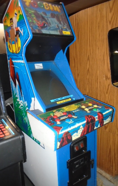 Used Arcade Games Sale : Toobin upright arcade machine game for sale by atari