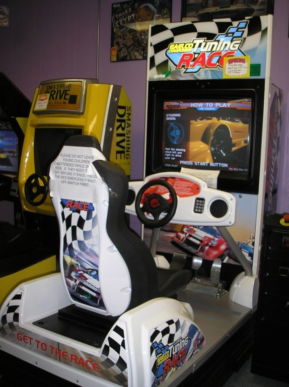 "GAELCO TUNING RACE CHAMPIONSHIP 34"" Monitor Arcade Machine Game for sale"