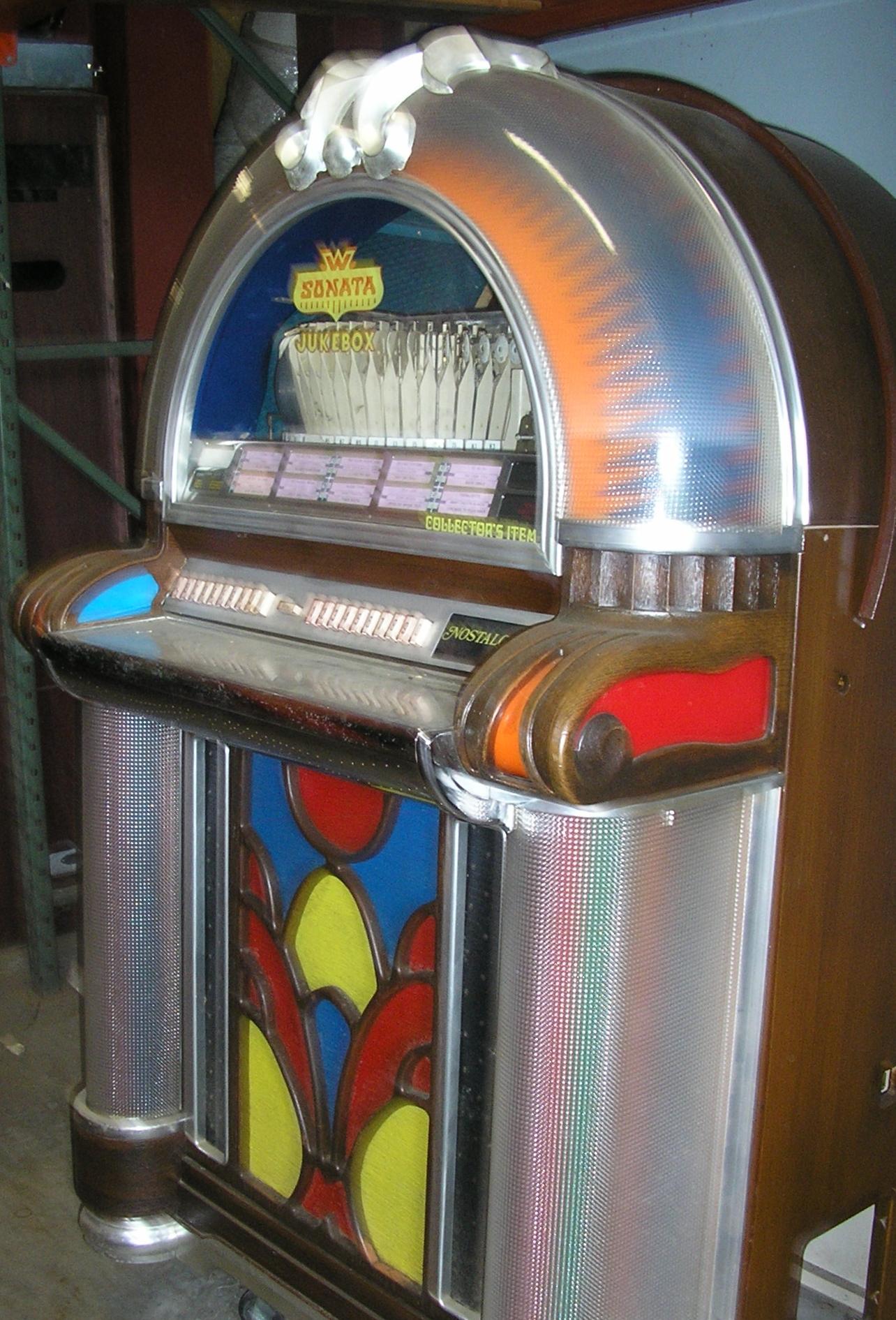 wurlitzer sonata 1050 jukebox for sale