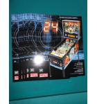 24 Pinball Machine Game Original Sales Promotional Flyer