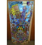 AEROSMITH PRO Pinball Machine Game Playfield Production Reject for sale #AE110