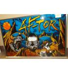 AF-TOR Pinball Machine Game Backglass Backbox Artwork - #409 by WICO CORP.