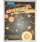 ASTEROIDS Arcade Machine Game OPERATION, MAINTENANCE & SERVICE MANUAL with ILLUSTRATED PARTS LISTS #743 for sale