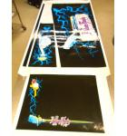 Addams Family Pinball Machine Game Cabinet Artwork 5 piece Decal Set NEW/OLD STOCK #51 for sale