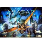 AVATAR Limited Edition 3D Pinball Machine Game Translite Backbox Artwork