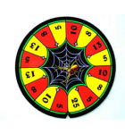 BALLY ADDAMS FAMILY Pinball Machine Game SPINNING SPIDER WHEEL DECAL #31-1821-P for sale