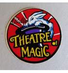 BALLY THEATRE OF MAGIC Pinball Machine Game DECAL for sale
