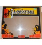 BASKETBALL Arcade Machine Game Plexiglass Marquee Graphic Artwork #1181 for sale