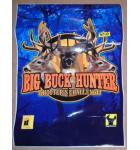 BIG BUCK HUNTER SHOOTER'S CHALLENGE Arcade Machine Game CABINET ARTWORK DECAL #3010 for sale